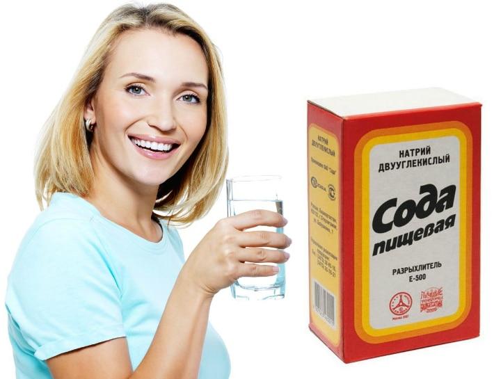 Эффективным средством для отбеливания является сода