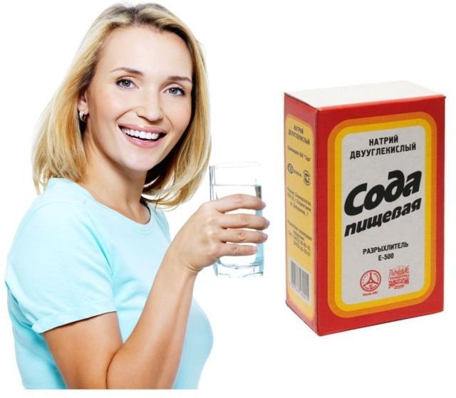 Полоскание содой — проверенный метод