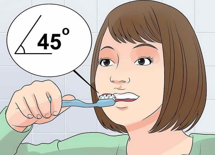 Правила очистки зубов