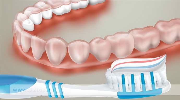 Установка капы для выравнивания зубов