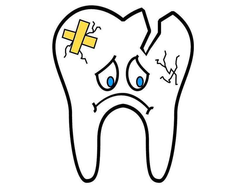 Причины неполного удаления зуба