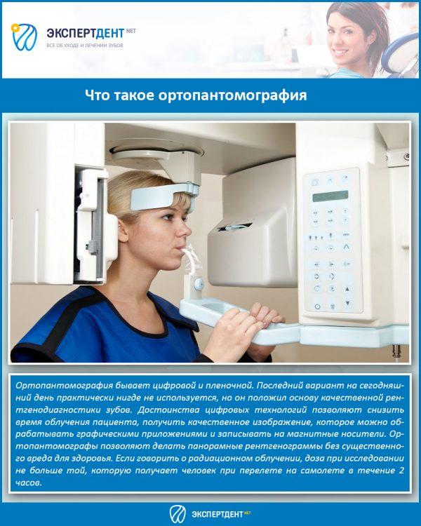 Что такое ортопантомография