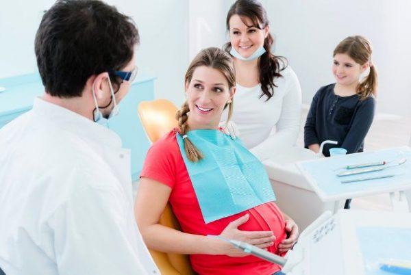 Лечение зубов в третьем триместре беременности