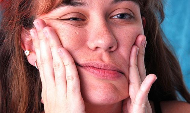 Снижение чувствительности лица