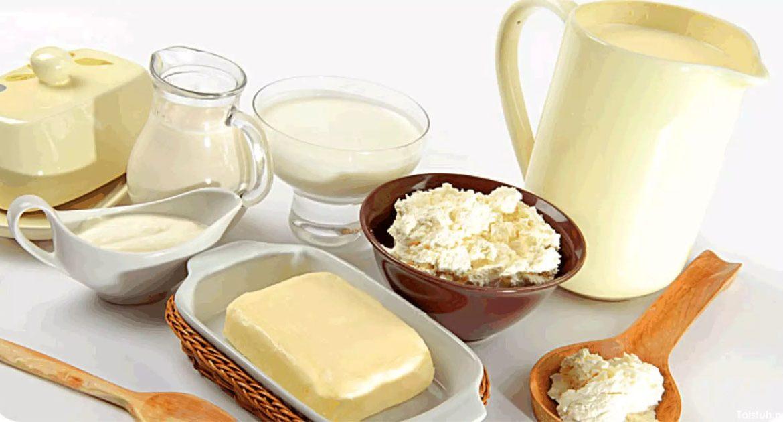 Молочные продукты богаты кальцием