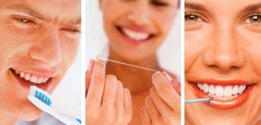 способы чистки зубов